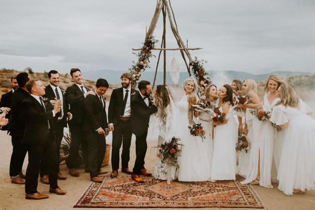 Wolf Feather Honey Farm Wedding