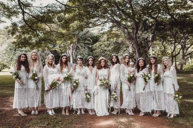 Icy-Chic Kauai Wedding