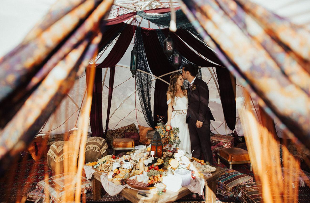 Majestic Desert Wedding