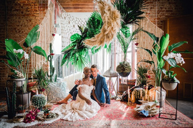 Boho Jungle Wedding Inspiration