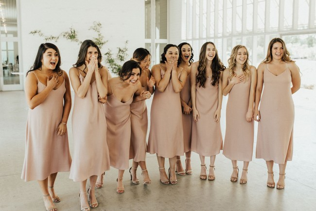 Bridesmaids in Reformation | BASH CO + EVENTS