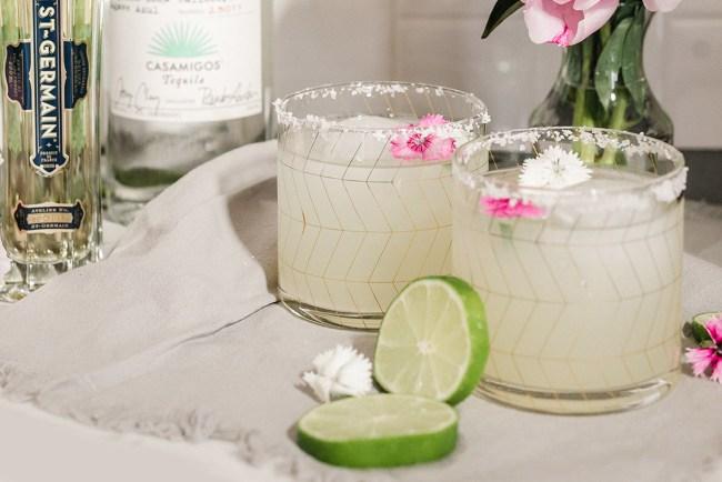 How to Make a Elderflower Margarita