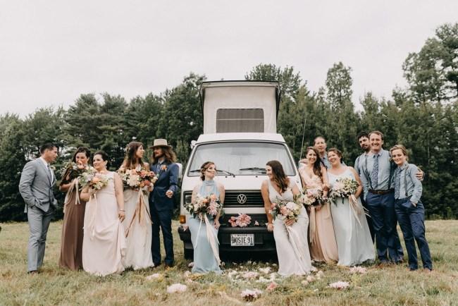 Maine Boho Wedding
