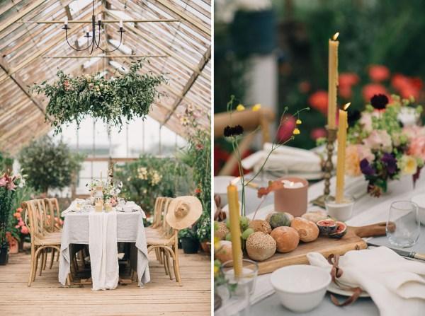 Secret Garden Wedding Inspiration 18th Century Irish