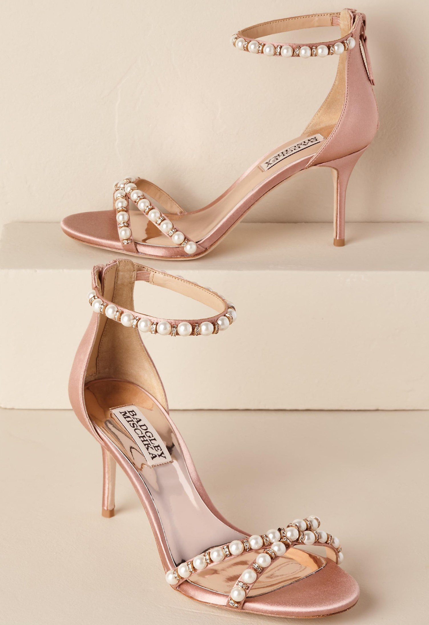 d453700bbe5 Hannah Heels - Green Wedding Shoes