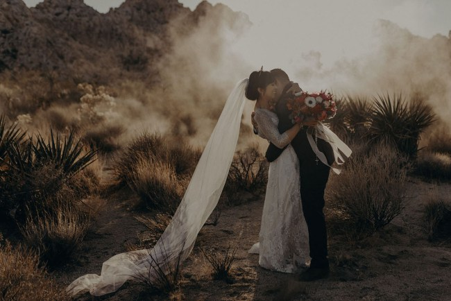 Desert to LA Wedding