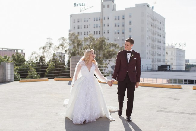 Vintage Downtown LA Wedding