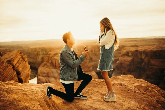 Surprise Horseshoe Bend Proposal