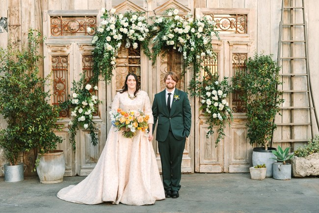 California Antique Shop Wedding