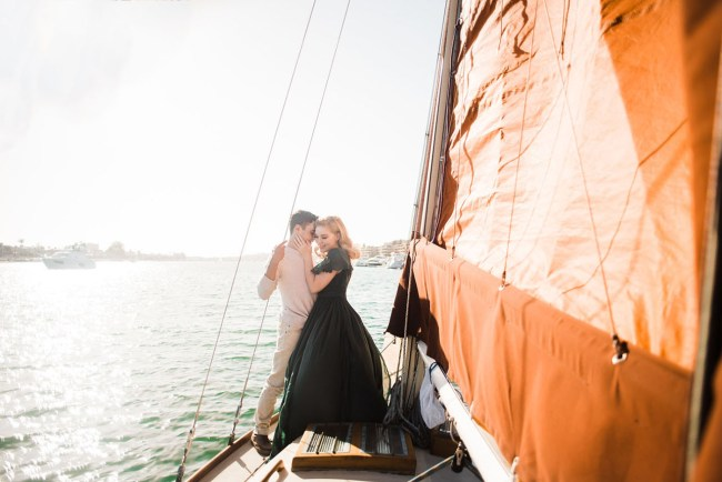 Sailboat Engagement
