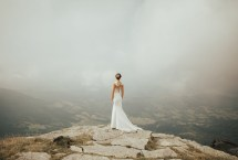 Romantic French Mountaintop Elopement In Clouds