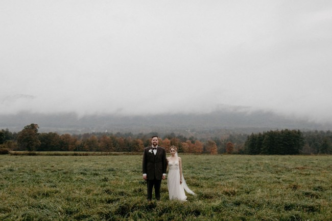 DIY Vintage Vermont Wedding