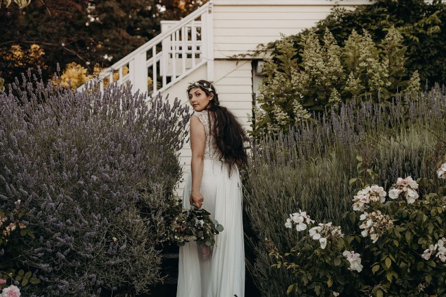 Lavender Farm Elopement