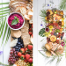 tropical grazing table