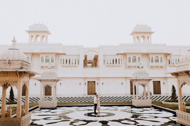 Indian Palace Engagement