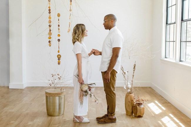 Deconstructed Citrus Wedding Inspiration