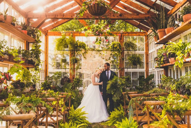 Greenhouse Styled Wedding
