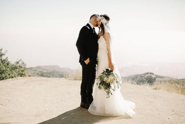 Modern Minimalist Wedding