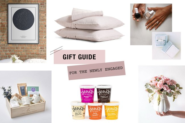 Gift Ideas for the Newly Engaged