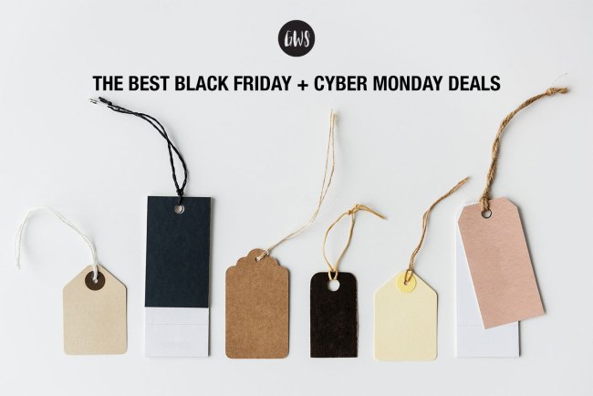 The Best Black Friday + Cyber Monday Deals 2018