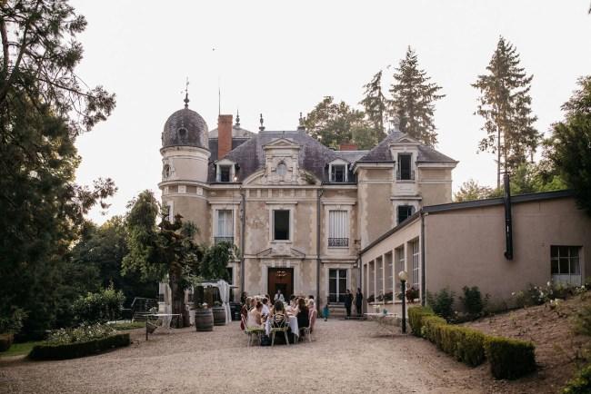 Burgundy France Castle Wedding