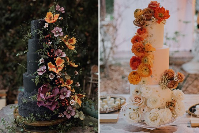 favorite wedding cakes of 2018