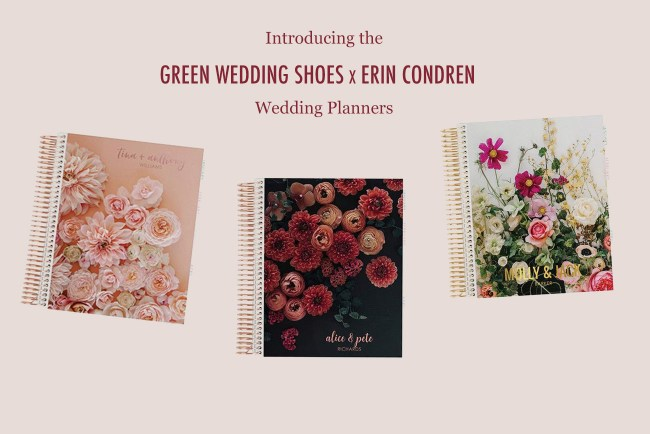 Green Wedding Shoes x Erin Condren Wedding Planners