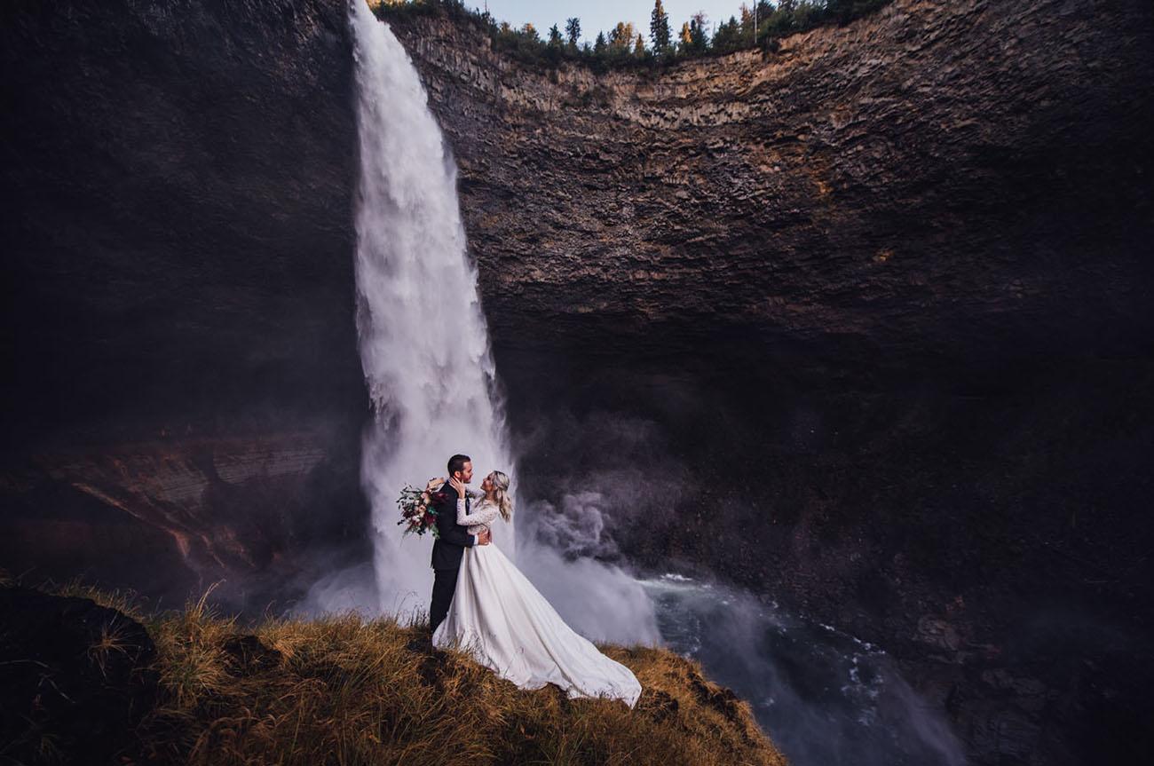 Helmcken Falls Waterfall Elopement
