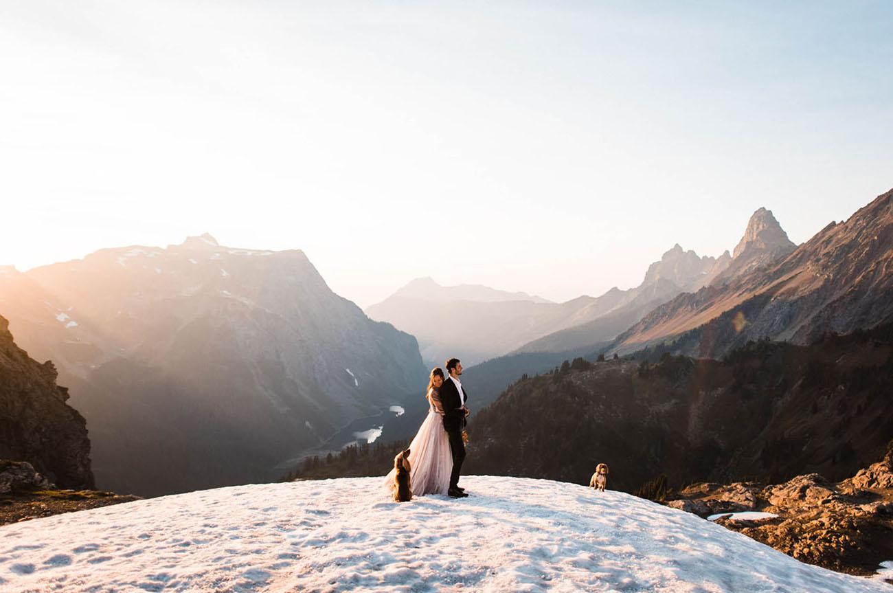 Fairytale Mountain Elopement