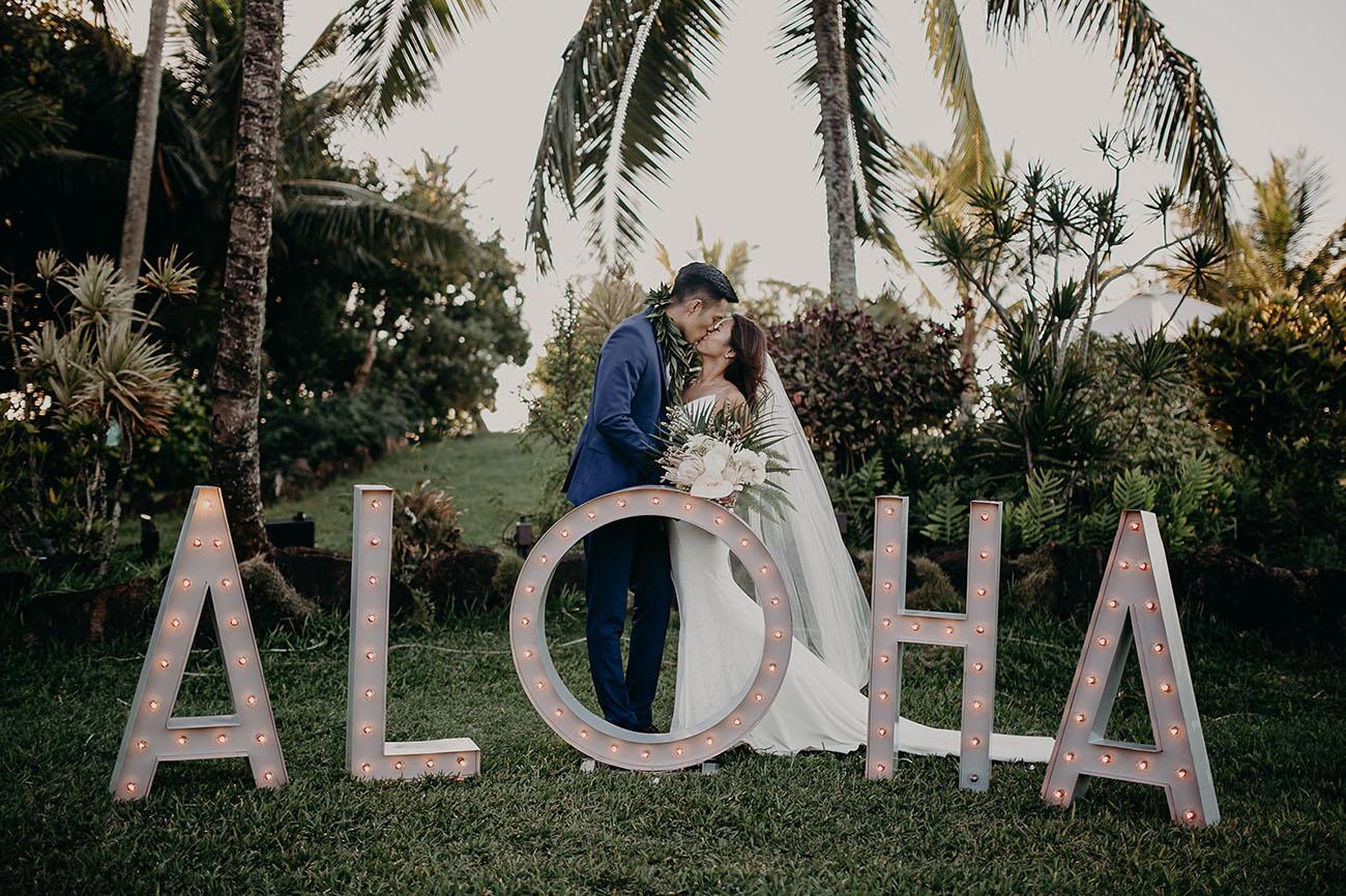 Loulu Palm Farm Estate Hawaii Wedding