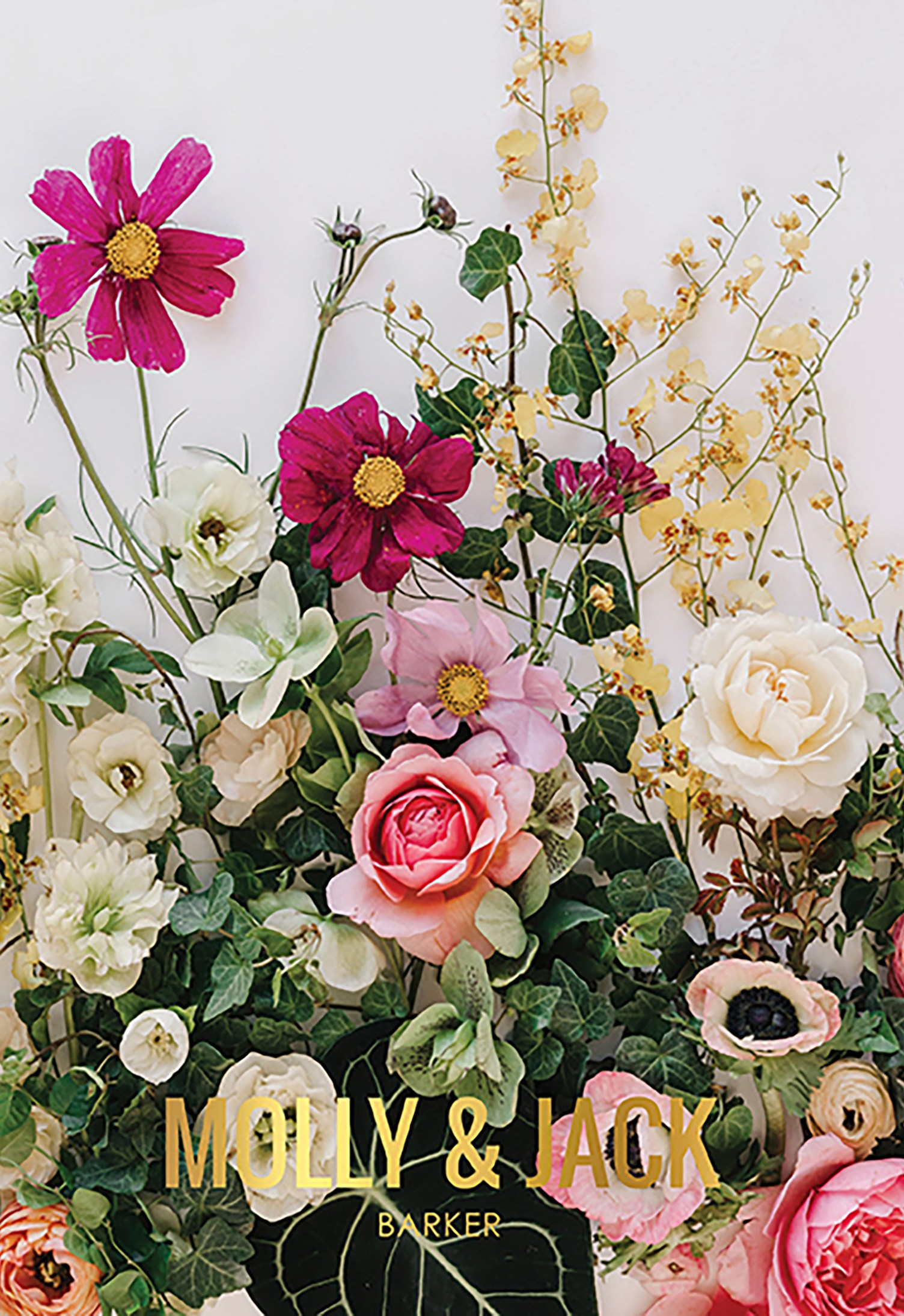 Wild Garden Metallic Wedding Planner Erin Condren