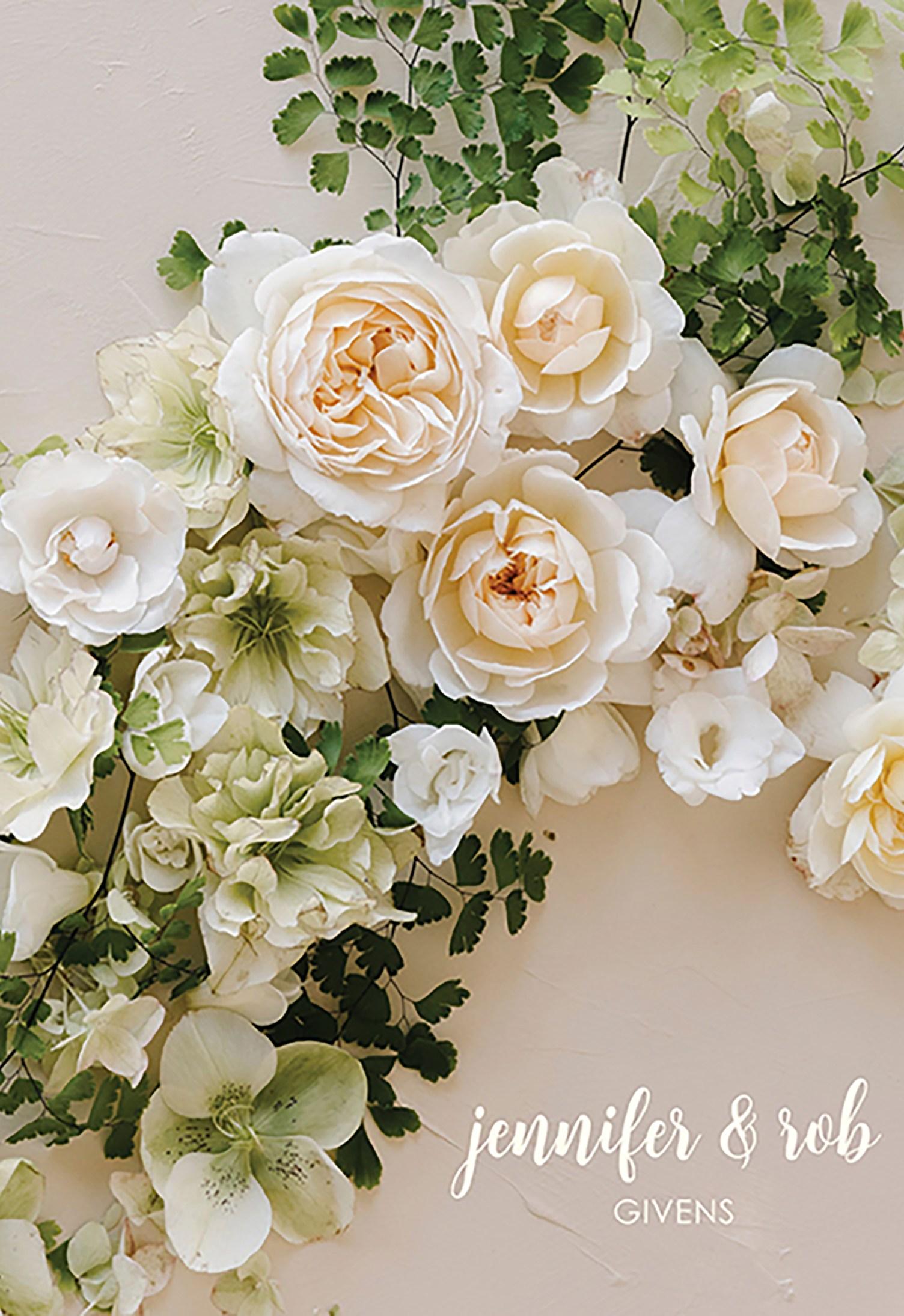 Classic Romance Floral Wedding Planner Erin Condren
