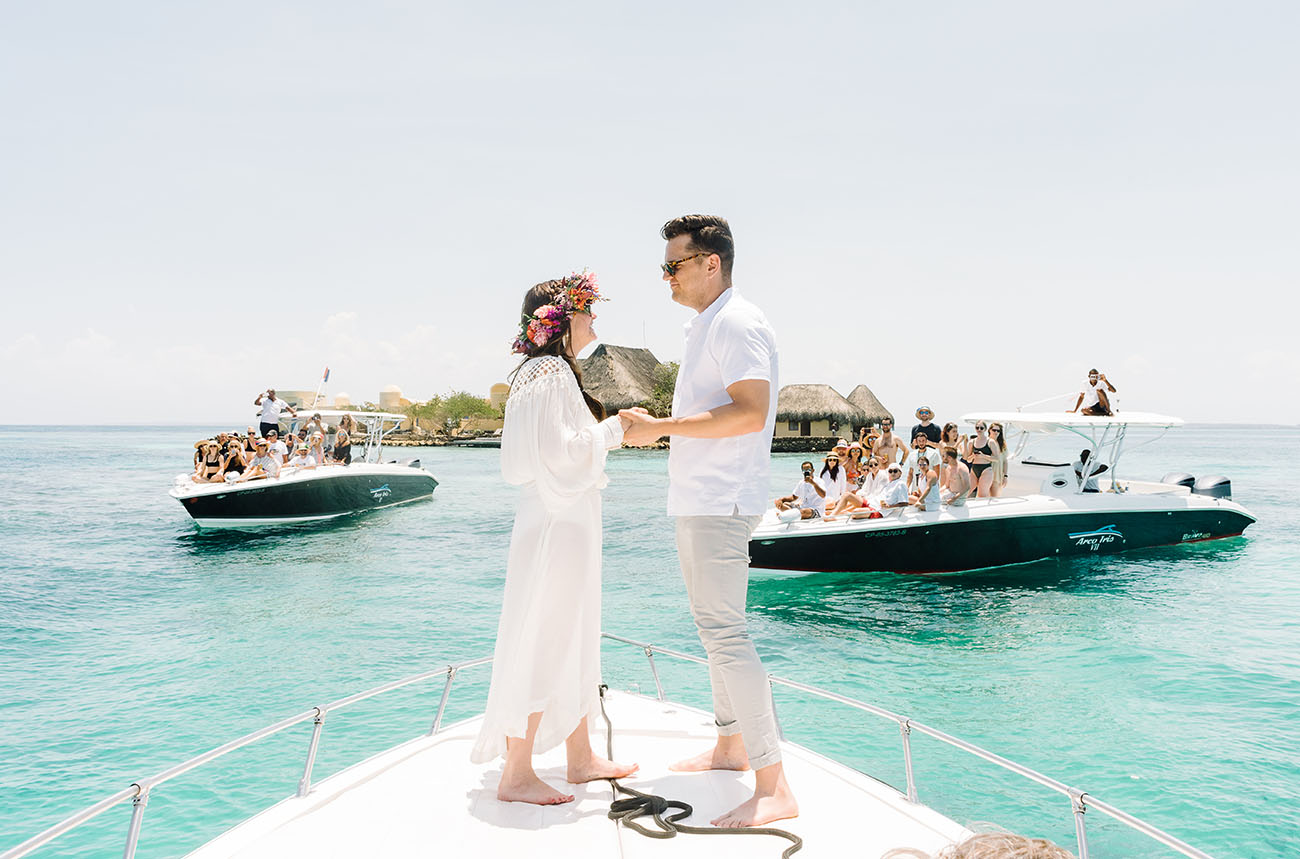 Colombia Island Hopping Wedding