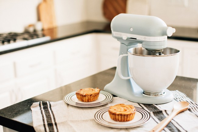 Kitchen-Aid Mixer in Misty Blue