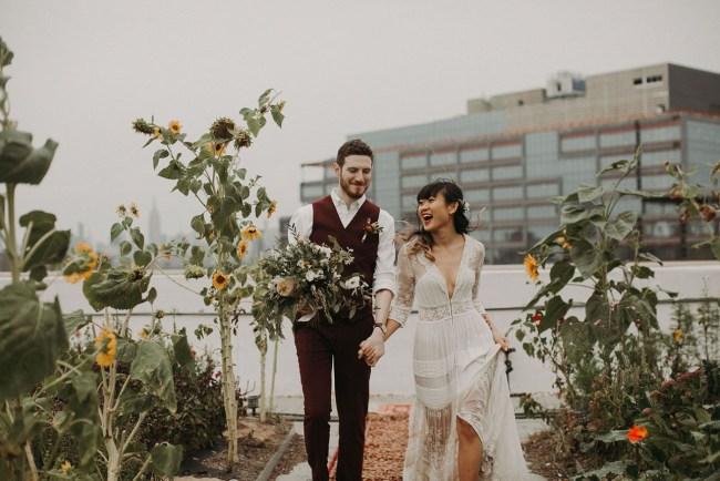 Rooftop New York Wedding