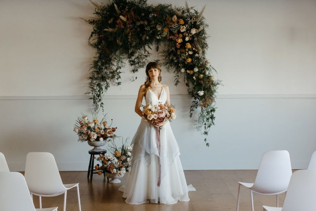 Portland Industrial Wedding Inspiration