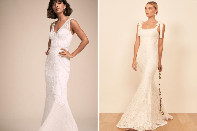 Gorgeous wedding dresses under $800