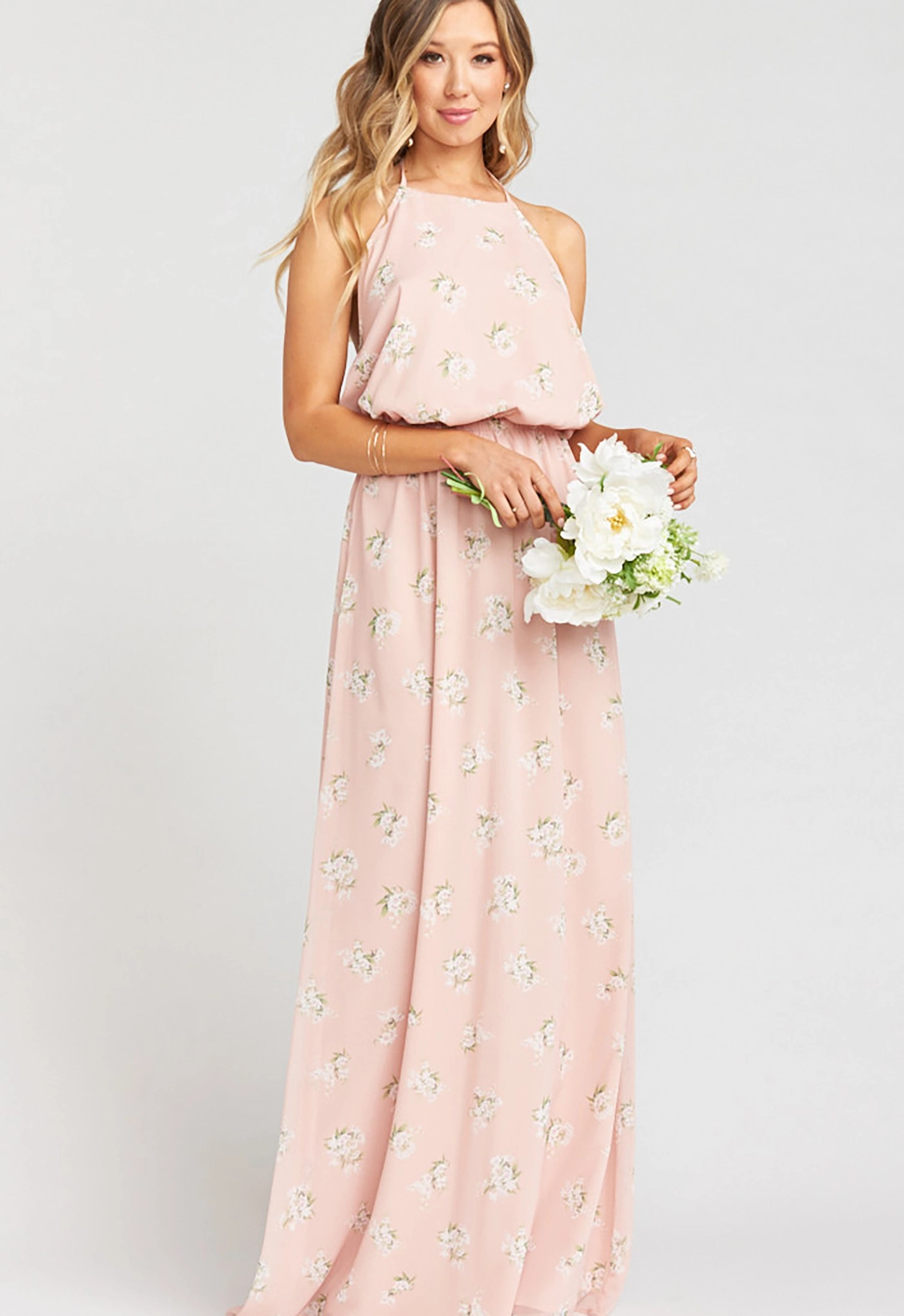 Blush GWSxMumu Bridesmaid Dress