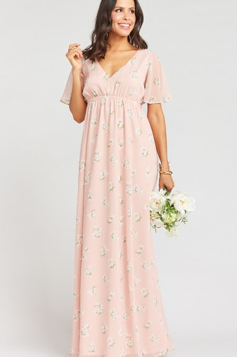 Blush GWSxMumu Bridesmaid Dress