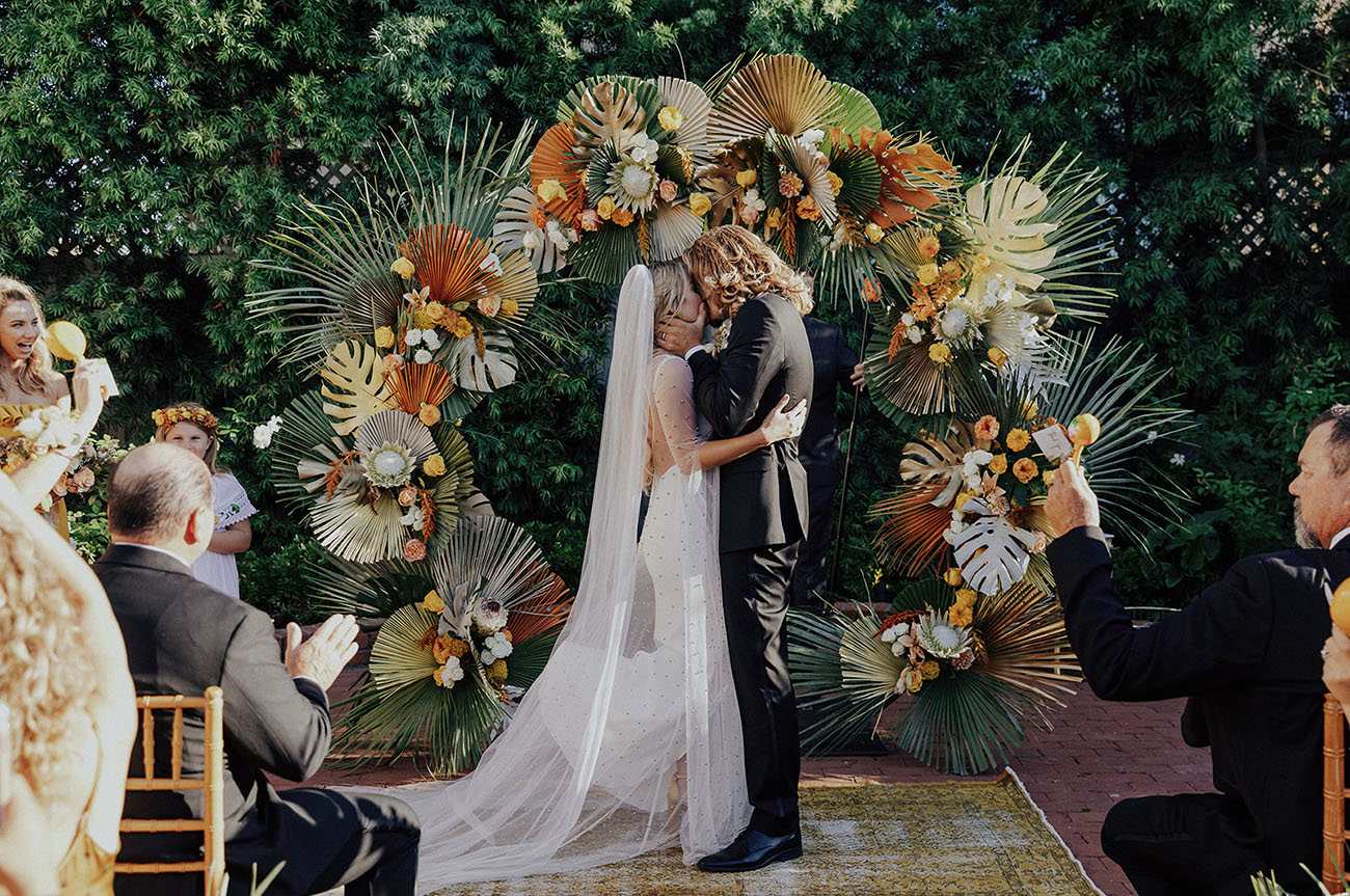 Spanish Tropical Inspired Wedding
