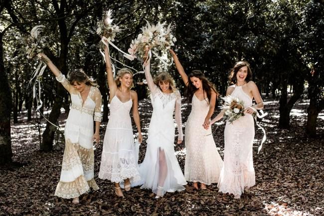 89f5fe917 Ellie Bullen + Alex Watson s Wholesome Bohemian Wedding Brimming with Vegan  Delights · Electric Pastel Wedding Inspiration