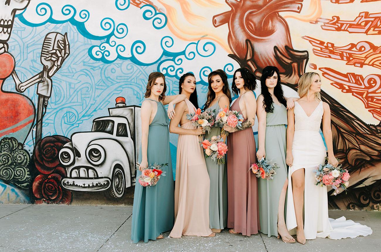 86b42c1860f7 Iridescent + Eclectic Arizona Wedding