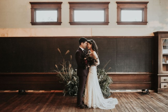 Vintage School House Wedding