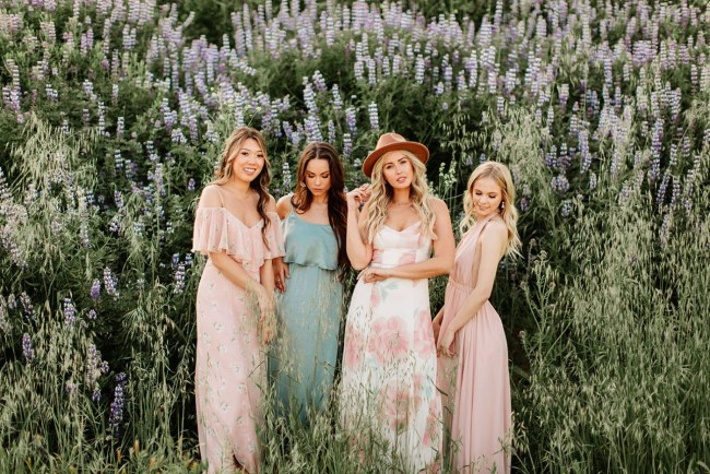 76149ed13535 How to Mix and Match Bridesmaid Dresses