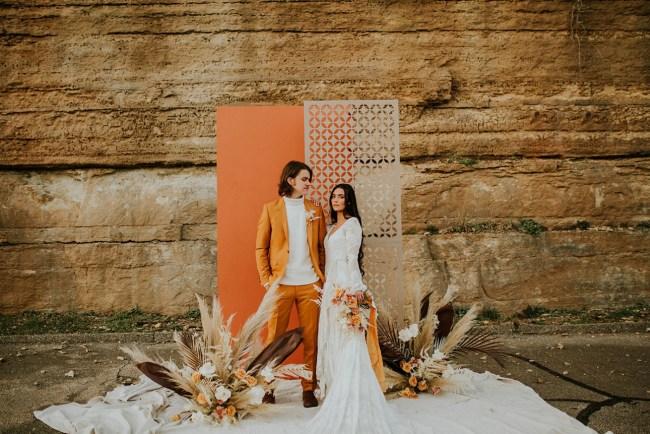 70s New Age Wedding Inspiration