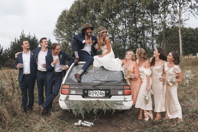 Boho New Zealand Wedding