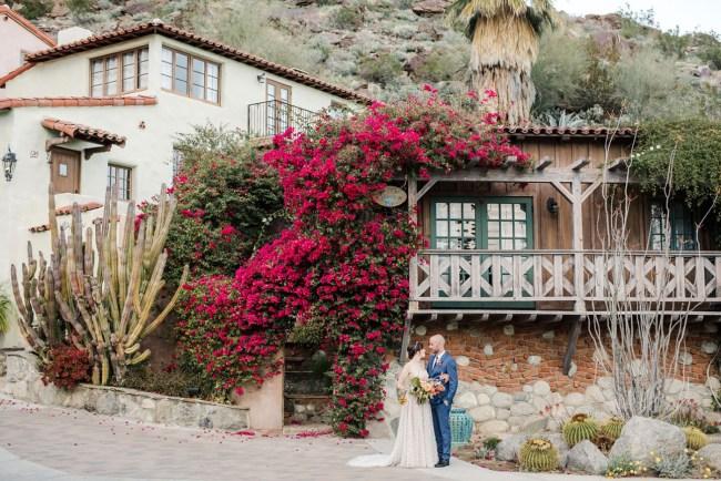 Modern Boho Palm Springs Wedding