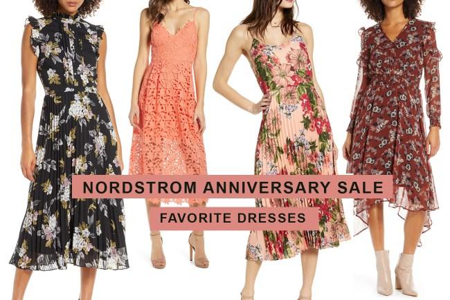 Nordstrom Anniversary Sale - Favorite Dresses