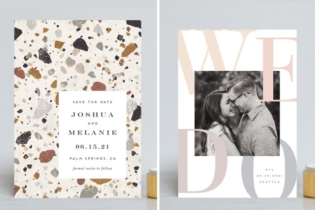 Minted Save the Date Sale
