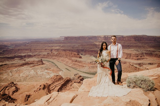 Under Canvas Moab Wedding